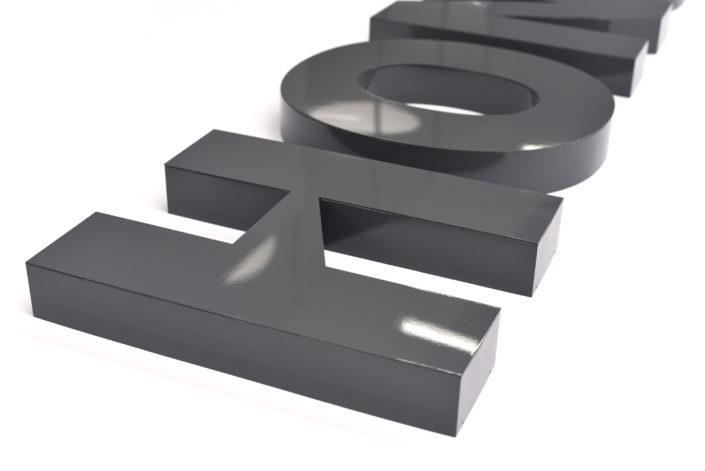 Einzelbuchstaben als Profil 3